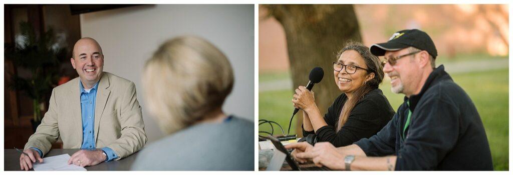 Two Branding Headshot Photos