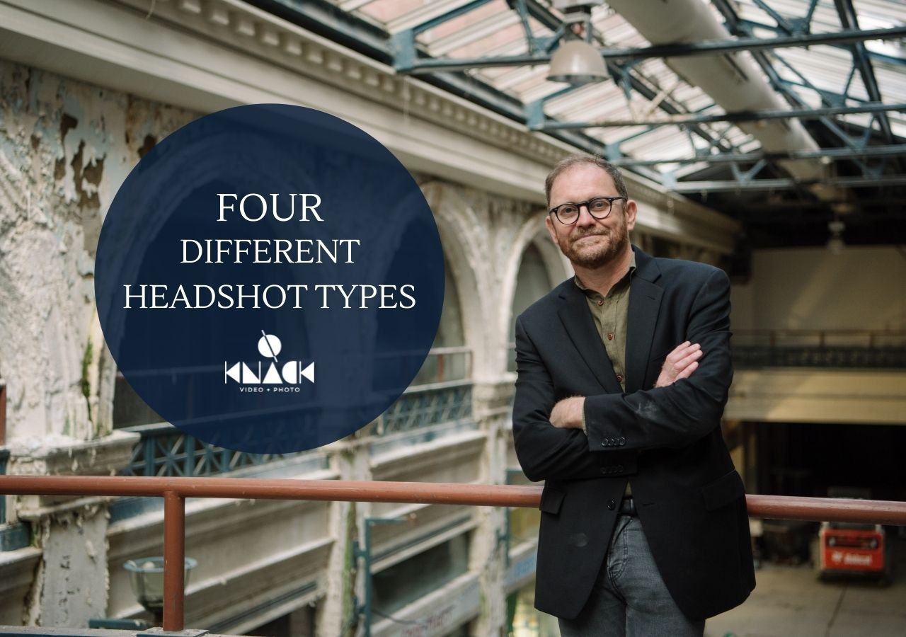 Four Different Headshot Types | Dayton, OH | Knack Commercial Video + Photo
